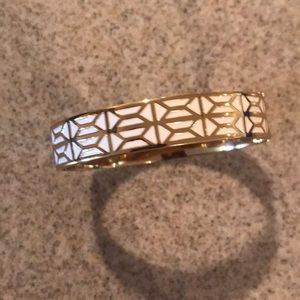 Stella & Dot Breezeblock Enameled Bangle Bracelet